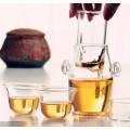 Teapot elegante Teapot Creative vaso de vidro de borosilicato Juice Pot
