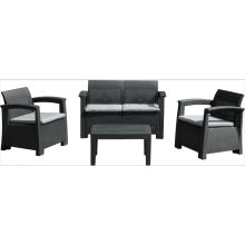plastic 4 seat sofa