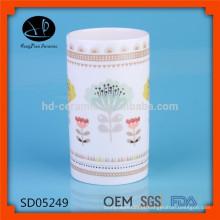 Novos clientes de design primeiro pote de especiarias, frasco de creme, frasco de pedreiro, frasco de cerâmica velas