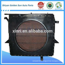 Copper radiator for heavy-duty truck from Shiyan Golden Sun