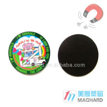 customized promotional gift die cut fridge magnet sticker