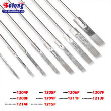 Solong TN01 Wholesale Disposable Tattoo Needles Tattooing Needle With Tattoo Machine Grips