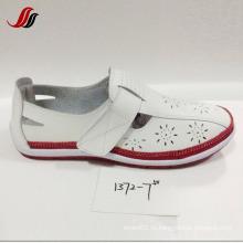 Последние обувь леди Loafer обувь отдыха кожаные (XF1371-1)