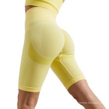 Women high waist gym wear clothes Yoga leggings pants Shorts Fitness Push Up Trainning Running Qucik Dry Sportwear