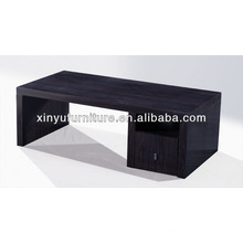 Durable wooden coffee table with drawer design C1073