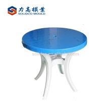 molde de mesa de molde de silla de plástico
