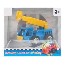 Regalo del muchacho Plástico Vehículo Coche Juguete Grúas Ingeniería Camión