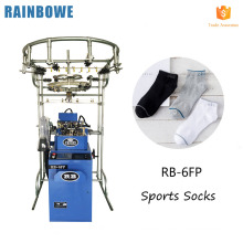 Guaranteed machine jacquard knitting machinery for wool socks making and manufacturing