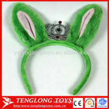 OEM plush big ear hairband for girls