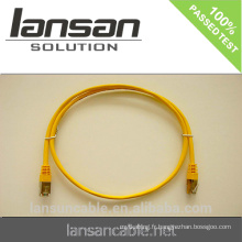 Cat6 BC, CCA UTP, FTP, câbles SFTP RJ45