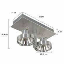 Focos LED de aluminio