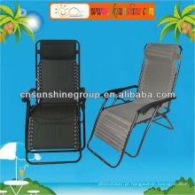 Cadeira de gravidade zero reclinável de dobramento