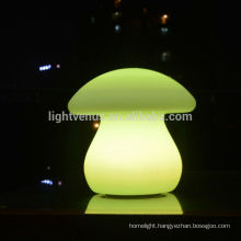 OEM factory for led bar table lamp Christmas indoor home decoration rechargeable shaped mushroom led desk light