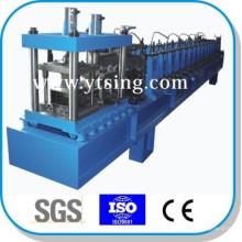 Passado CE e ISO YTSING-YD-6624 máquina automática de C Purlin completo formando