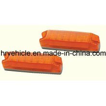 Amber Rectangle Shape Side Marker Lamp for Trucks