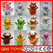 Fantoches de mão de animais de pelúcia para venda