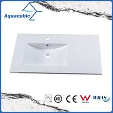 Good Quality Artificial Marble Rectangular Bathroom Sink Acb0901