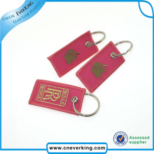 Customized Embroidery Key Chain Remove Before Flight