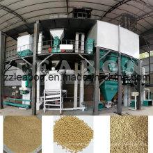 Línea de producción de pellets de alimentación animal de gran capacidad