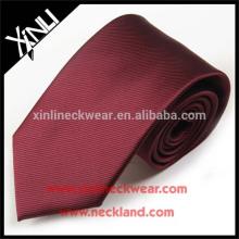 Cravate de polyester tissé par nœud parfait de cravate Dropship Dropshipping