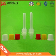 Professional 8.6mm Plastic Long Spout and Cap Manufacturer