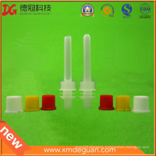 Stand up Pouch Long Suction Nozzle Spout and Cap for Pouch