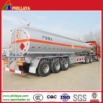 Tanque de agua del semirremolque del tanque del acero de tres ejes 40000 litros