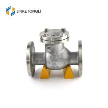 JKTLPC110 vanne de retenue de direction de flux de retour sans retour en acier inoxydable doux