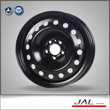 Widely Used Low Price Black 6.5x18 Wheel of Steel Rims Wheels with 5 Lug