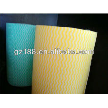 Apertured Rayon Spunlace Non woven Fabric