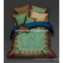 romantic luxury bedding Hd digital print 3d bedding sets