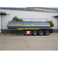 3 axles 20000 liter Trailers Asid Sulfuric