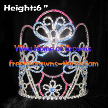 Crystal Animal Butterfly Crowns for Kids