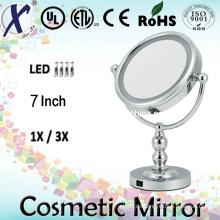 7′′ doppelseitig LED Badezimmerspiegel