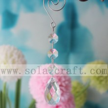Acrylic Crystal Octagon Beads Cut Ball Teardrop Wedding Tree Pendant For Chandelier Parts