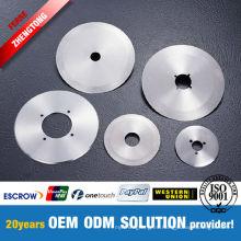 Hojas TCT para corte de acero y aluminio