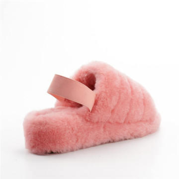 Plush Indoor Women's Slippers