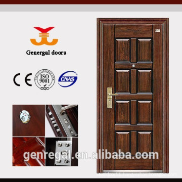 Latest Design 8 panel muti locks Security Steel Door
