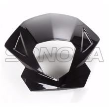 QINGQI QM125GY-2B Headlight Panel Black for Superbyke RMR 125  RMR125 Sinnis Apache 125  QM125GY Original Quality