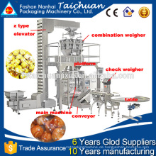 China-Maschine STS 304 vollautomatische Popcorn-Verpackungsmaschine