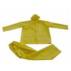 Pvc Polyester Rainsuit Set