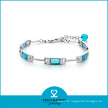 2016 New Designed Fashion Silver Whosale Gemstone Bracelet