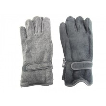 Mens polar fleece gloves with 3M thinsulate