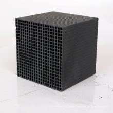 100*100*100 mm Square Honeycomb Air Water Filter Activated Carbon