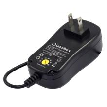 24W Universal AC/DC Adapter Switching Power Supply