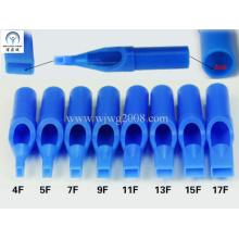 Einweg-Tattoo-Kunststoff Kurztipps - 50mm Blau F