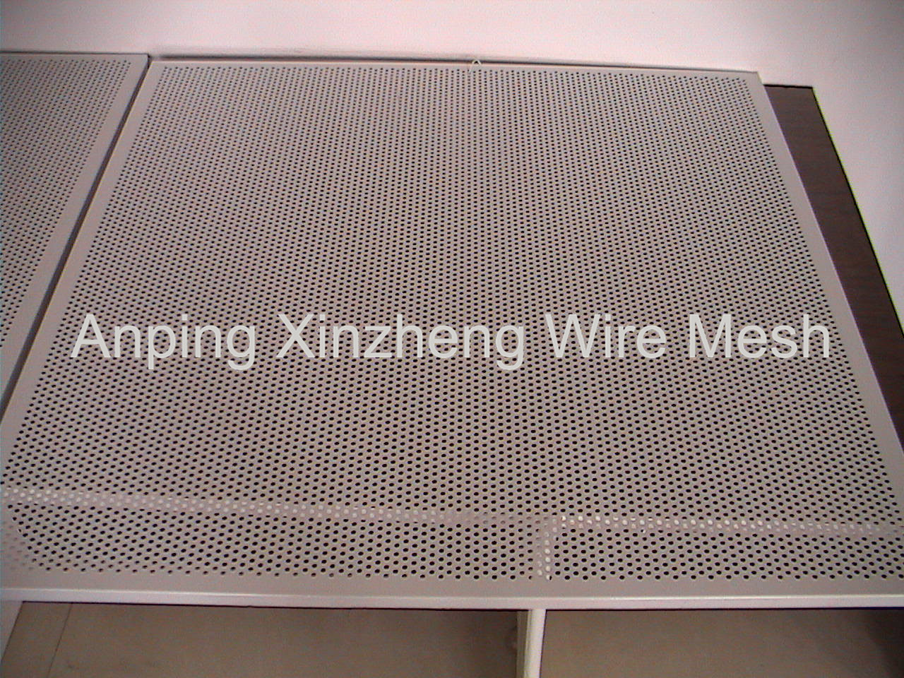 Perforated Mesh Aluminum
