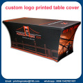 Logo Bercetak 6ft Stretch Table Cover