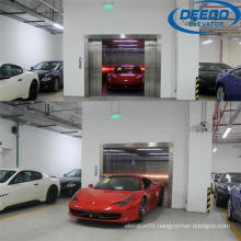 Heavy Loading Safe Electric Parking Car Elevator