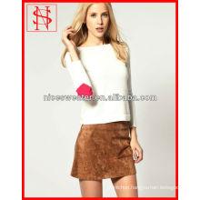 Heart Elbow Patch Women Formal Sweaters